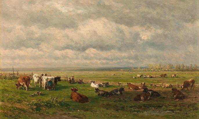 荷兰文艺复兴先驱者 Willem Roelofs (1822-1897)插图1