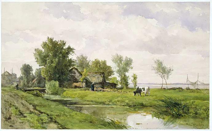 荷兰文艺复兴先驱者 Willem Roelofs (1822-1897)插图7