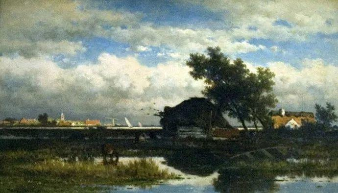 荷兰文艺复兴先驱者 Willem Roelofs (1822-1897)插图9