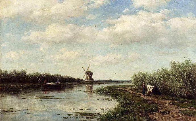 荷兰文艺复兴先驱者 Willem Roelofs (1822-1897)插图11