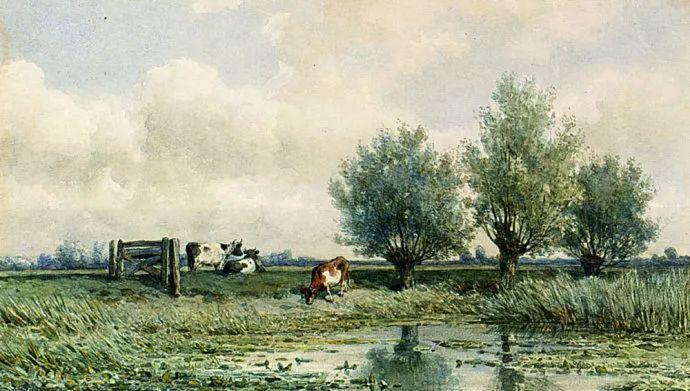 荷兰文艺复兴先驱者 Willem Roelofs (1822-1897)插图19
