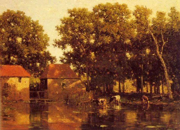 荷兰文艺复兴先驱者 Willem Roelofs (1822-1897)插图21