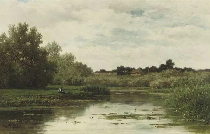 荷兰文艺复兴先驱者 Willem Roelofs (1822-1897)插图33