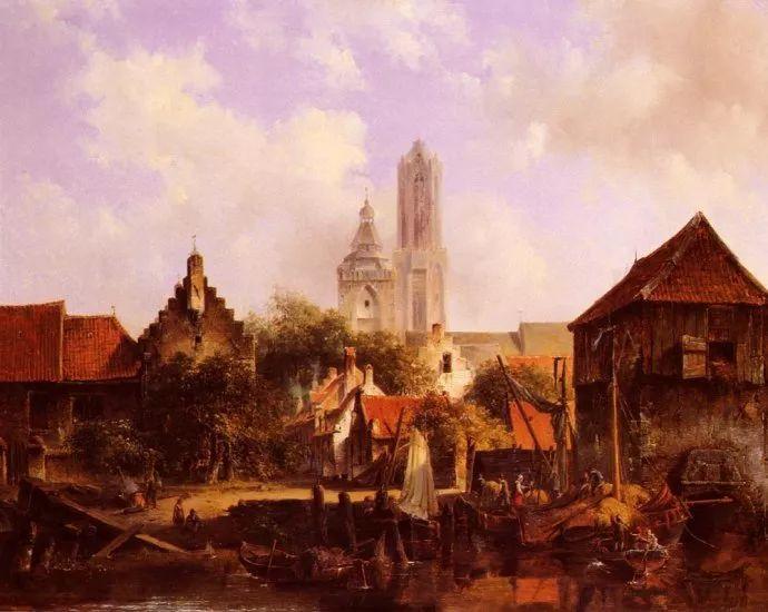 荷兰文艺复兴先驱者 Willem Roelofs (1822-1897)插图35
