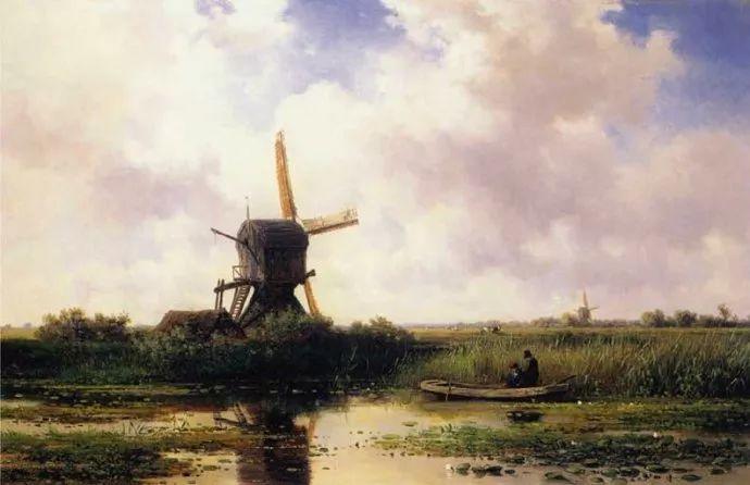 荷兰文艺复兴先驱者 Willem Roelofs (1822-1897)插图37
