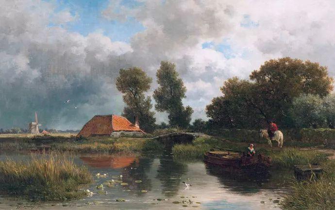 荷兰文艺复兴先驱者 Willem Roelofs (1822-1897)插图41