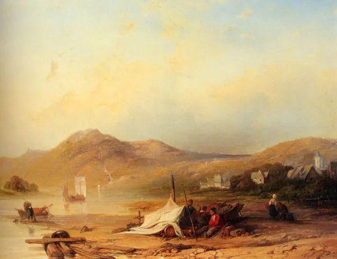 荷兰文艺复兴先驱者 Willem Roelofs (1822-1897)插图43