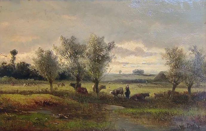 荷兰文艺复兴先驱者 Willem Roelofs (1822-1897)插图45