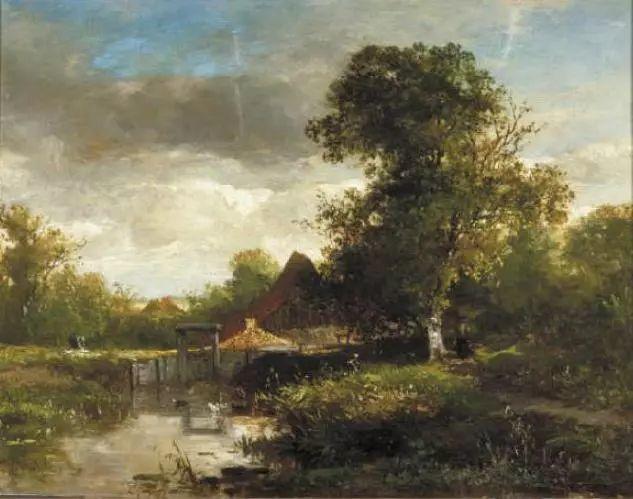 荷兰文艺复兴先驱者 Willem Roelofs (1822-1897)插图47