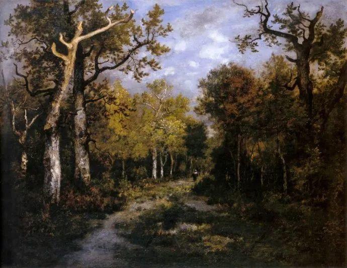 善于表现森林景观 法国巴比松画派迪亚兹(1808-1876)插图1