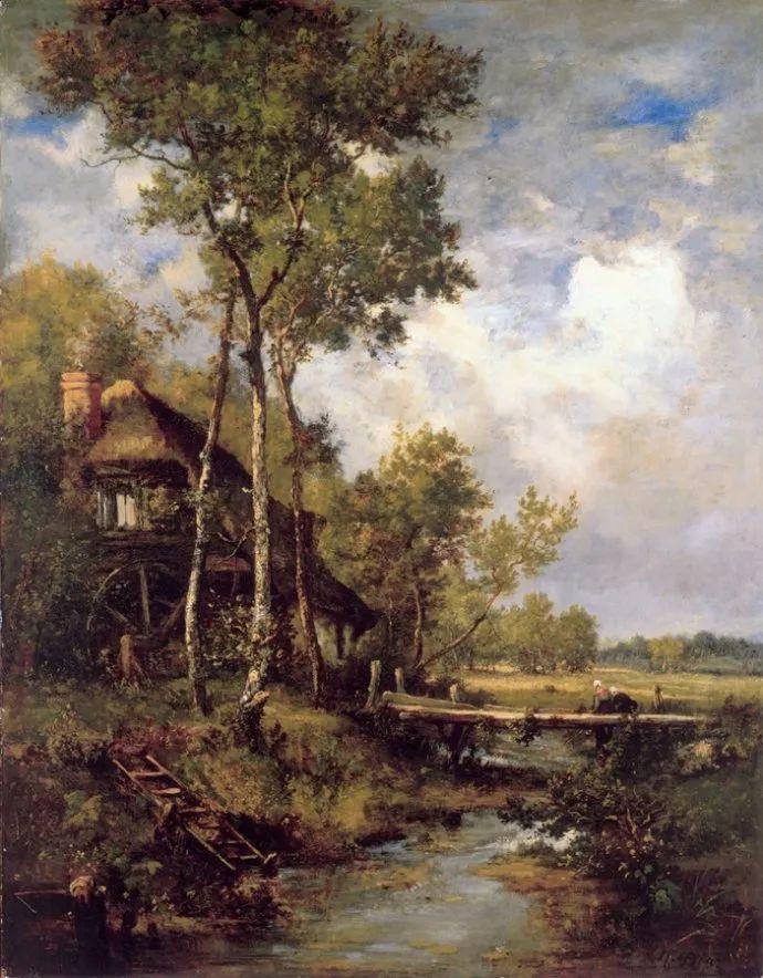 善于表现森林景观 法国巴比松画派迪亚兹(1808-1876)插图3