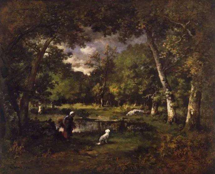 善于表现森林景观 法国巴比松画派迪亚兹(1808-1876)插图5