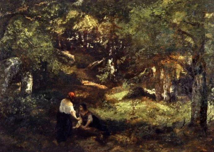 善于表现森林景观 法国巴比松画派迪亚兹(1808-1876)插图9