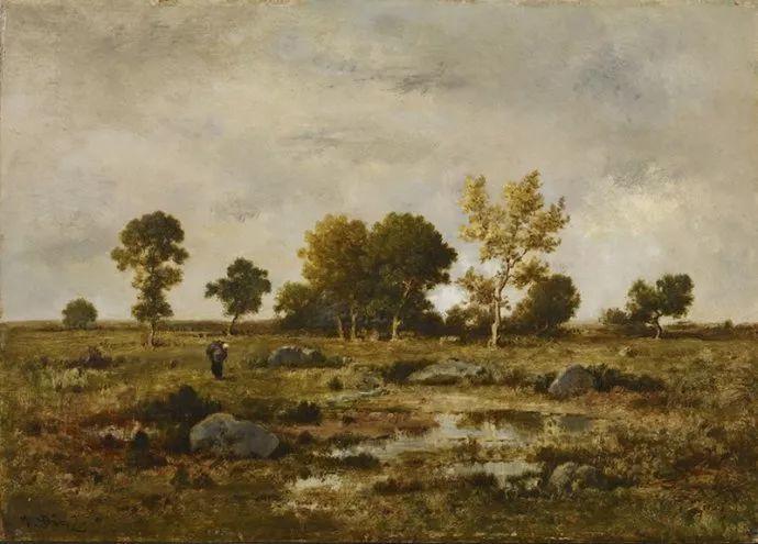 善于表现森林景观 法国巴比松画派迪亚兹(1808-1876)插图11