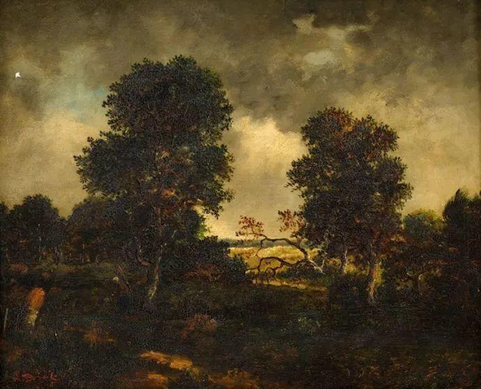 善于表现森林景观 法国巴比松画派迪亚兹(1808-1876)插图19
