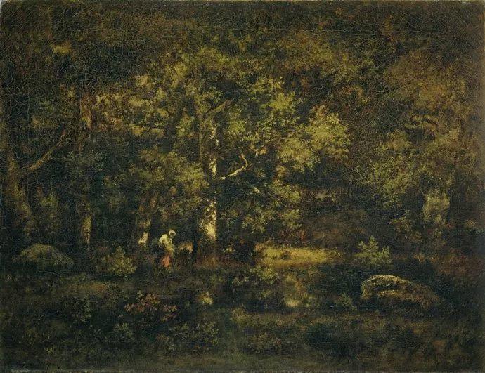 善于表现森林景观 法国巴比松画派迪亚兹(1808-1876)插图21