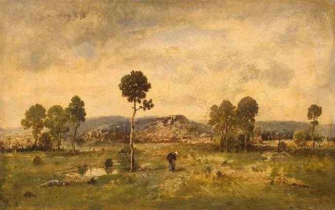 善于表现森林景观 法国巴比松画派迪亚兹(1808-1876)插图25