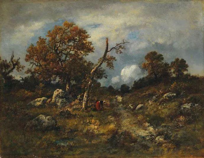 善于表现森林景观 法国巴比松画派迪亚兹(1808-1876)插图31