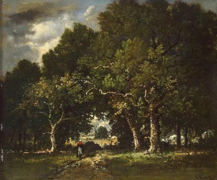 善于表现森林景观 法国巴比松画派迪亚兹(1808-1876)插图33