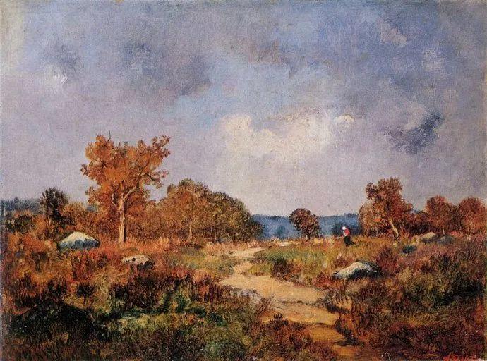 善于表现森林景观 法国巴比松画派迪亚兹(1808-1876)插图39
