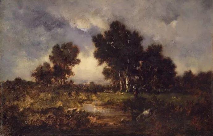 善于表现森林景观 法国巴比松画派迪亚兹(1808-1876)插图45