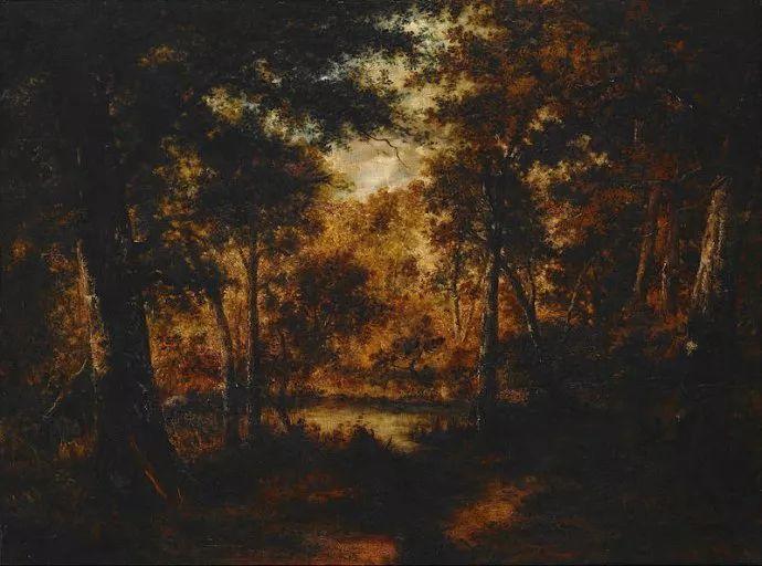 善于表现森林景观 法国巴比松画派迪亚兹(1808-1876)插图51