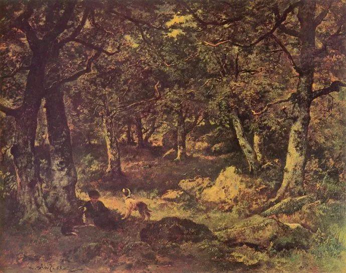 善于表现森林景观 法国巴比松画派迪亚兹(1808-1876)插图53