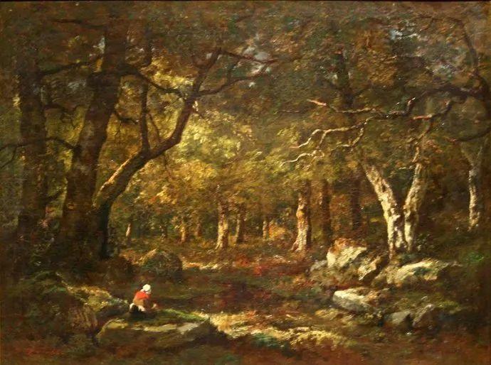 善于表现森林景观 法国巴比松画派迪亚兹(1808-1876)插图55
