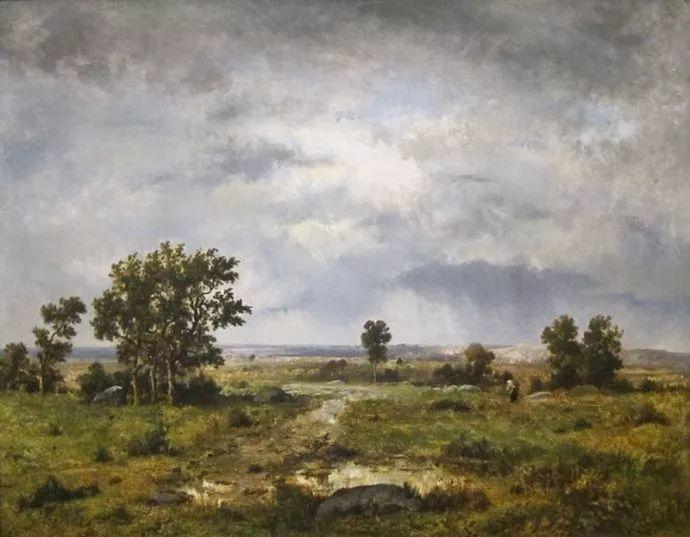 善于表现森林景观 法国巴比松画派迪亚兹(1808-1876)插图57