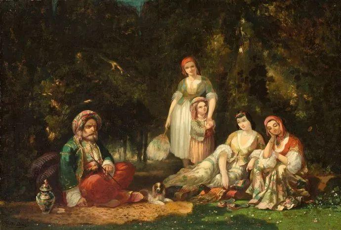 善于表现森林景观 法国巴比松画派迪亚兹(1808-1876)插图63