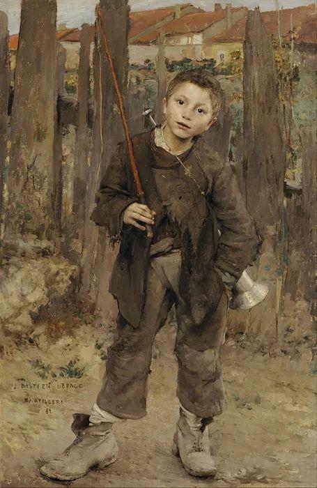可称为米勒的后继者 法国画家勒帕热(1848-1884)插图1