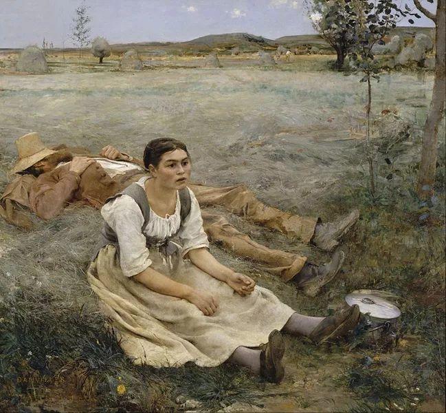 可称为米勒的后继者 法国画家勒帕热(1848-1884)插图3