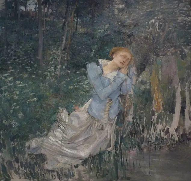 可称为米勒的后继者 法国画家勒帕热(1848-1884)插图13