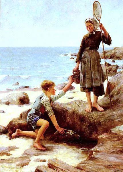 可称为米勒的后继者 法国画家勒帕热(1848-1884)插图17