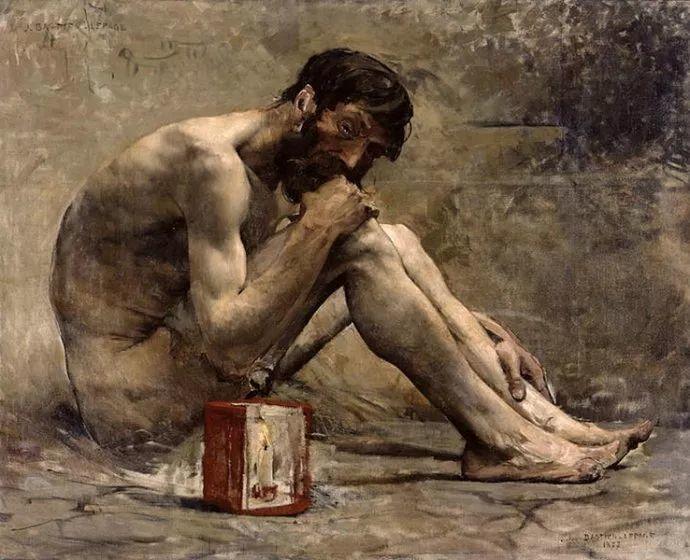 可称为米勒的后继者 法国画家勒帕热(1848-1884)插图19