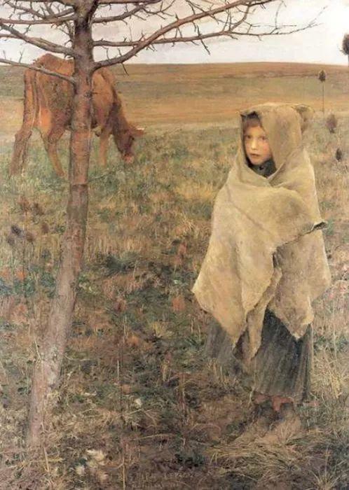 可称为米勒的后继者 法国画家勒帕热(1848-1884)插图21