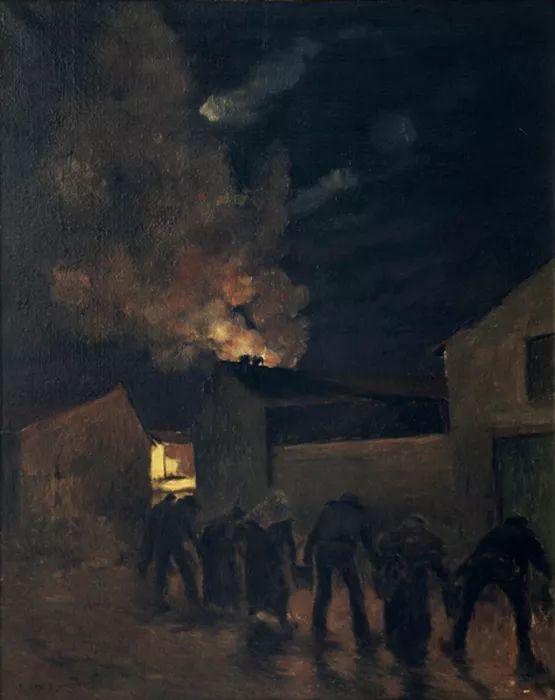 可称为米勒的后继者 法国画家勒帕热(1848-1884)插图23
