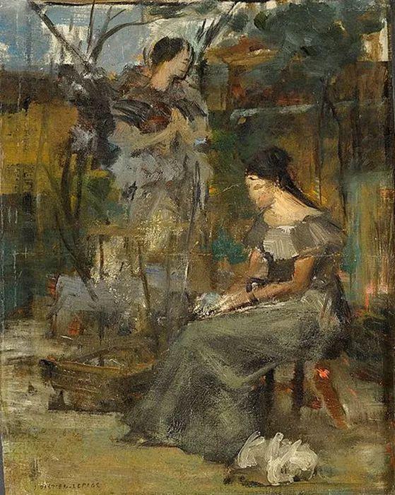 可称为米勒的后继者 法国画家勒帕热(1848-1884)插图25