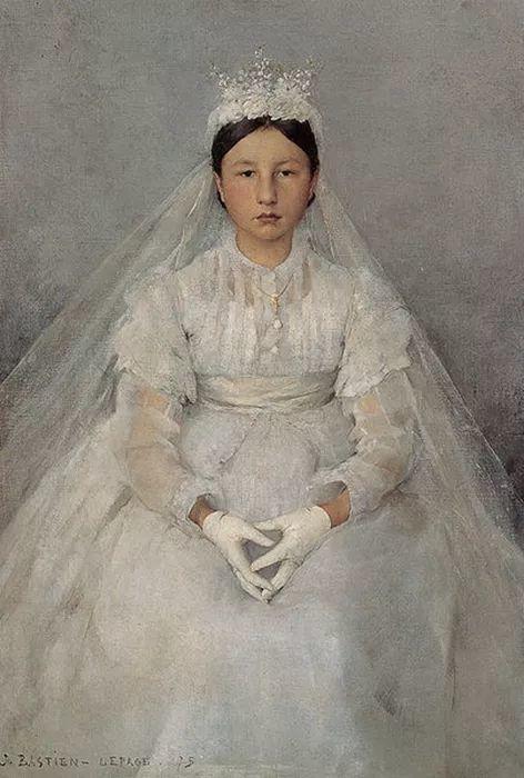 可称为米勒的后继者 法国画家勒帕热(1848-1884)插图27