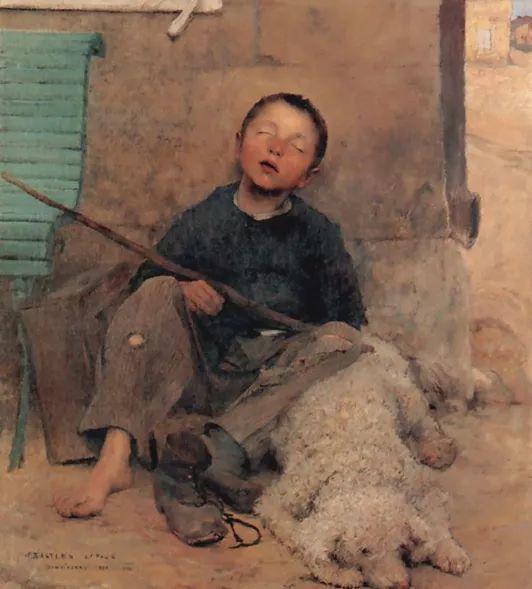 可称为米勒的后继者 法国画家勒帕热(1848-1884)插图29