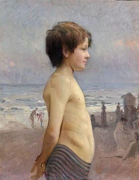 可称为米勒的后继者 法国画家勒帕热(1848-1884)插图31