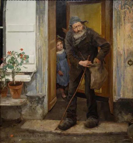 可称为米勒的后继者 法国画家勒帕热(1848-1884)插图37