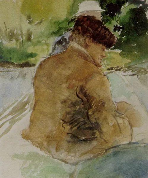 可称为米勒的后继者 法国画家勒帕热(1848-1884)插图39