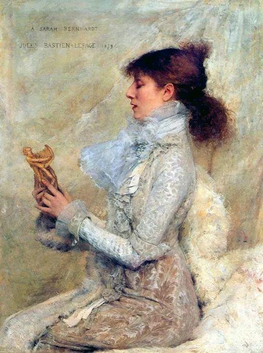 可称为米勒的后继者 法国画家勒帕热(1848-1884)插图43