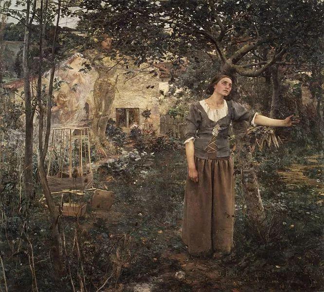 可称为米勒的后继者 法国画家勒帕热(1848-1884)插图45