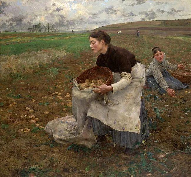 可称为米勒的后继者 法国画家勒帕热(1848-1884)插图47