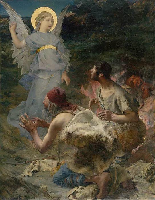 可称为米勒的后继者 法国画家勒帕热(1848-1884)插图53