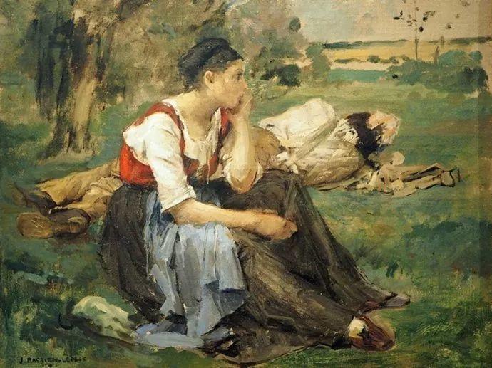 可称为米勒的后继者 法国画家勒帕热(1848-1884)插图63