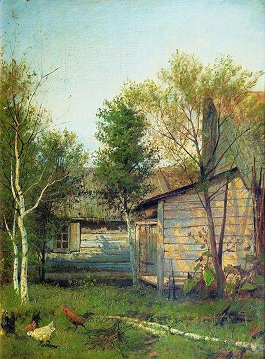 """""""情绪风景""""画家 俄罗斯列维坦(1860-1900)插图4"""