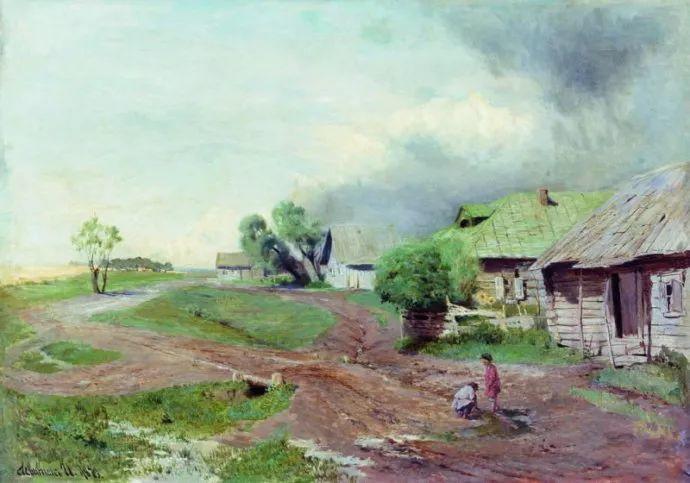 """""""情绪风景""""画家 俄罗斯列维坦(1860-1900)插图5"""
